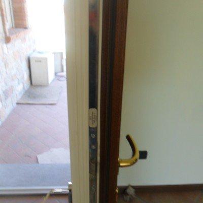 Portoncino ingresso pvc-legno