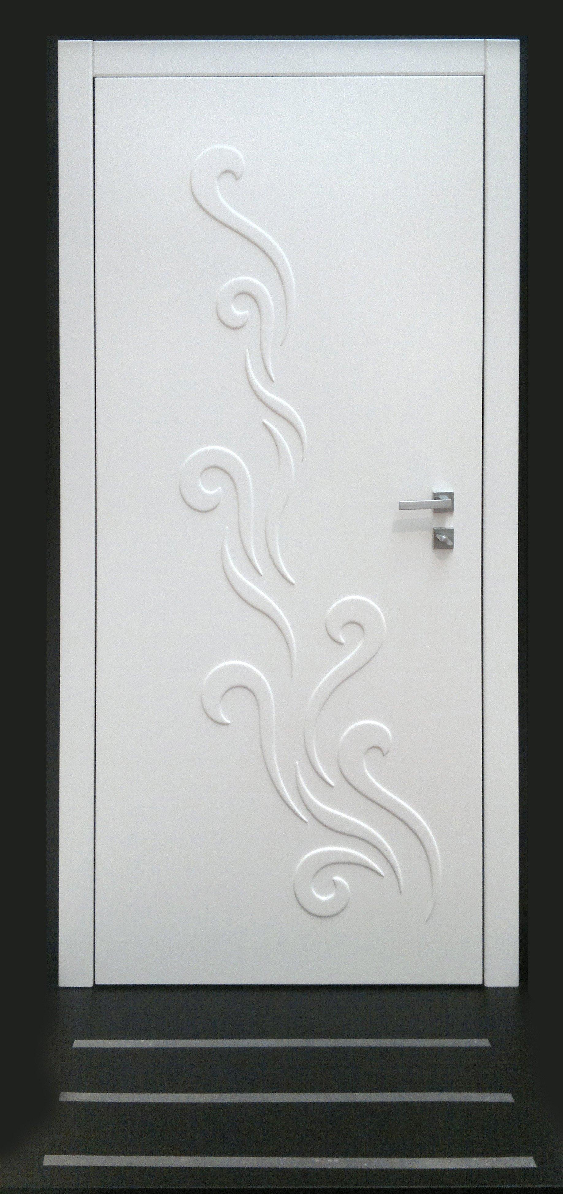 Blindato bianco con decorazione