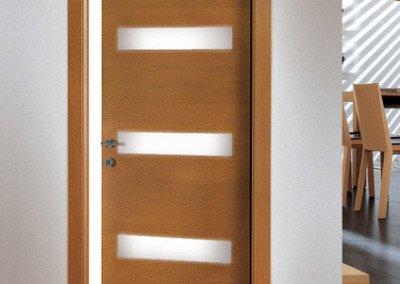 Porta interna rovere teak