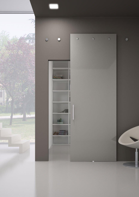 Porta interna mod indipendent lesizza serramenti - Porta interna vetro ...