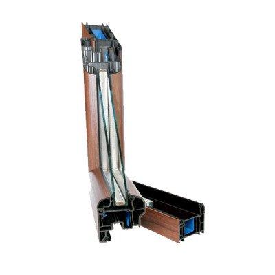Sezione PVC stondato