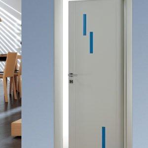 porta interna laccato bianco