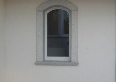 Serramento PVC ad arco