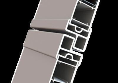 Sezione scuro dogato PVC